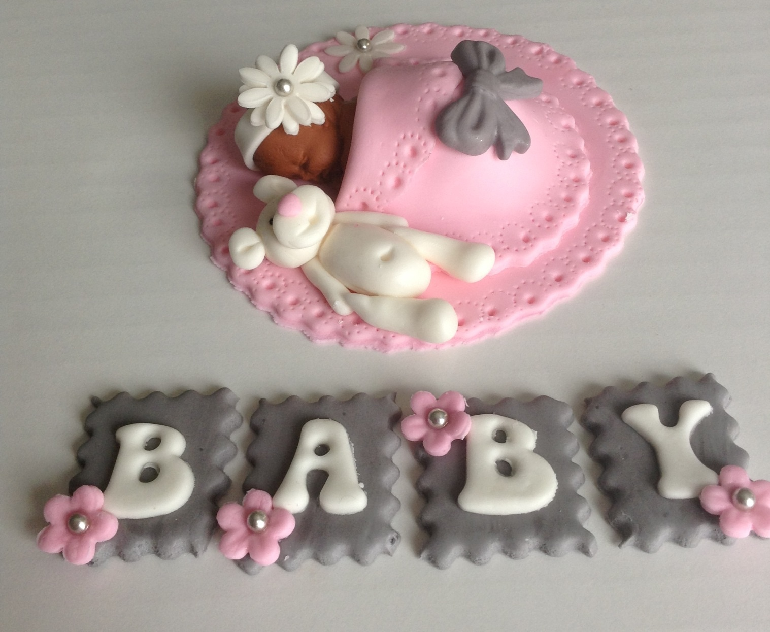 edible baby shower cake toppers